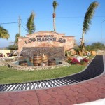 Los Barilles entrance