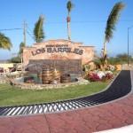 Los Barilles entrance