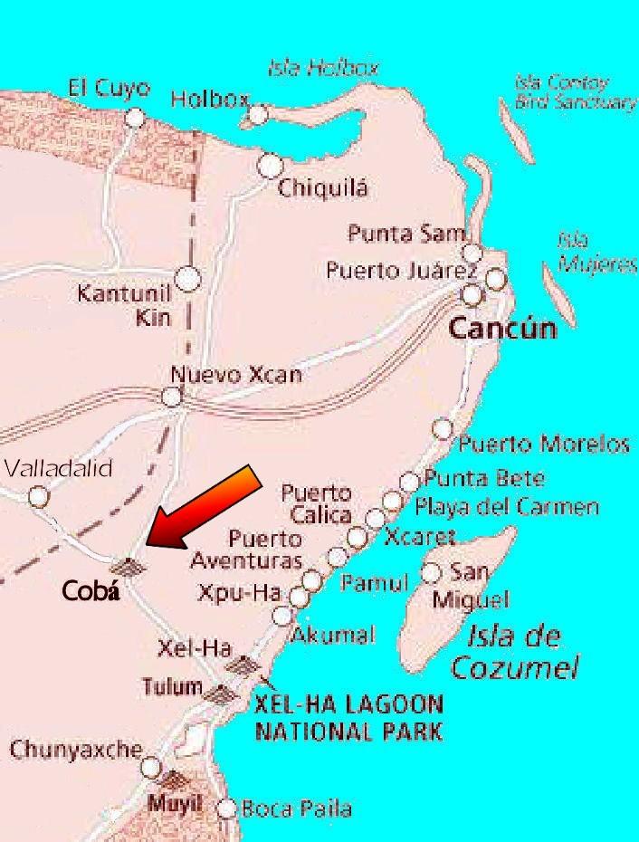 The Coba Ruins Pronounced