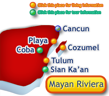 best places to live in mayan riviera