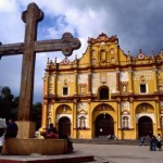 San Cristobal cathedral with cross